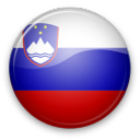 flag button slovenija