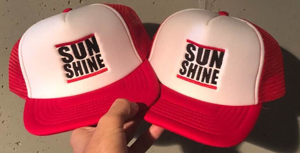 sunshine cap red